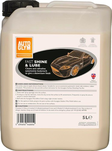AUTOGLYM PROFESSIONAL FAST SHINE & LUBE 5 LITER
