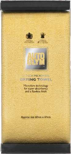 AUTOGLYM HI-TECH MICROFIBRE DRYING TOWEL 60 x 60 CM