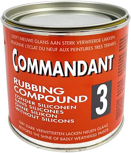 COMMANDANT C35 RUBBING COMPOUND 500 GRAM NR.3