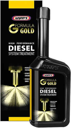 WYNNS DIESEL GOLD FORMULA SYSTEM TREATMENT 500ML
