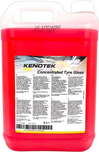 KENOTEK TYRE & PLASTIC GLOSS CONCENTRATE 5000ML