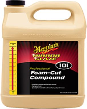 MEGUIARS PROFESSIONAL FOAM CUT COMPOUND 3.78LTRS