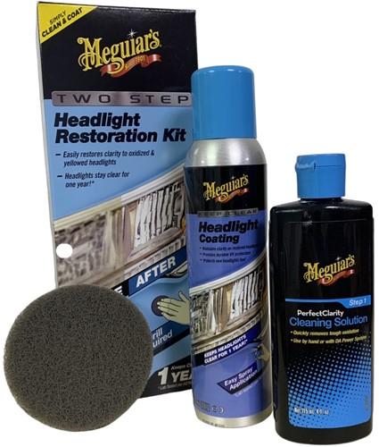 MEGUIARS PERFECT CLARITY HEADLIGHT RESTORATION KIT (KOPLAMPGLAS REINIGEN)