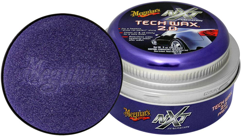 MEGUIARS NXT TECH WAX 2.0 PASTE + APPLICATOR PAD 311GR