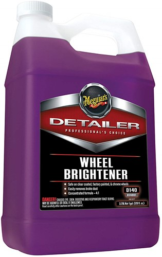 MEGUIARS PROFESSIONAL WHEEL BRIGHTENER CLEANER 3.78LTRS
