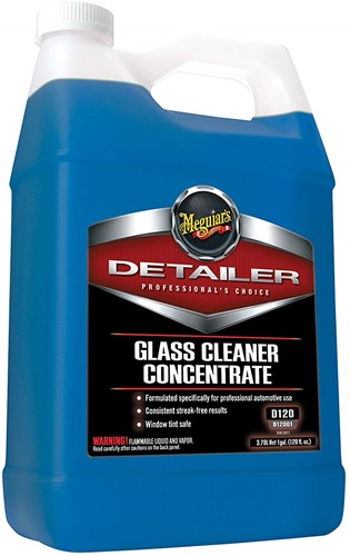 MEGUIARS PROFESSIONAL GLASS CLEANER CONCENTRATE 3.78LTRS