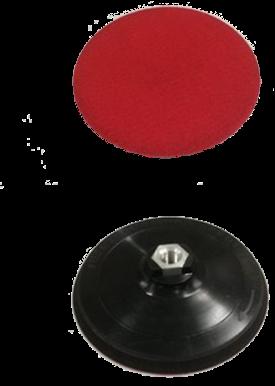 AUTOGLYM STEUNSCHIJF 150MM - M14 SOFT