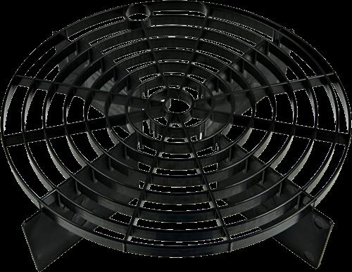 SCRATCH SHIELD BUCKET FILTER BLACK 24CM T/M 27CM