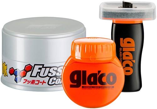 SOFT99 PROTECTION SET FUSSO COAT LARGE LIGHT & GLACO KIT