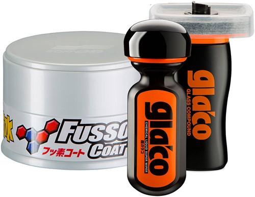SOFT99 PROTECTION SET FUSSO COAT LIGHT & GLACO KIT