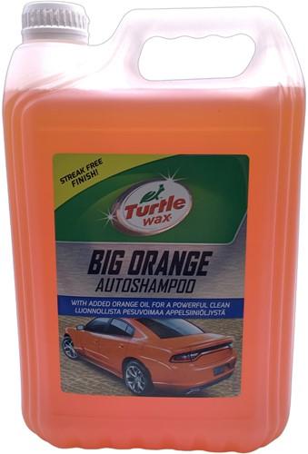 TURTLE WAX BIG ORANGE SHAMPOO – AUTOSHAMPOO AUTOWAS 5L