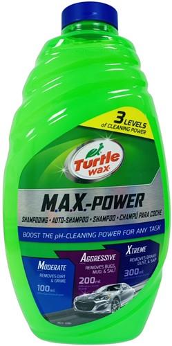 TURTLE WAX MAX POWER CARWASH AUTO SHAMPOO 1.42L