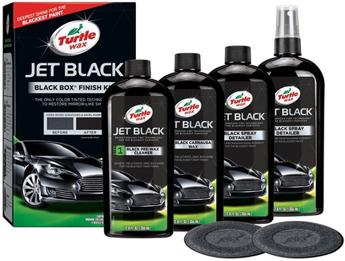 TURTLE WAX BLACK BOX – ZWART LAKWERK RESTAURATIE EN HERSTEL SET