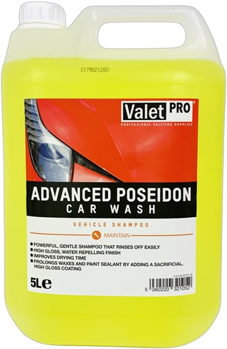 VALET PRO ADVANCED POSEIDON CAR SHAMPOO 5L