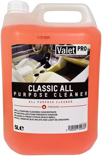 VALET PRO ALL-PURPOSE CLEANER CLASSIC APC ALLESREINIGER 5L