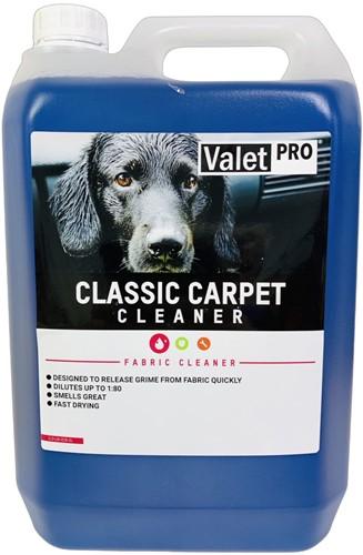 VALET PRO CLASSIC CARPET CLEANER TAPIJTREINIGER 5L