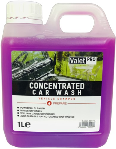 VALET PRO CONCENTRATED CAR SHAMPOO 1000ML
