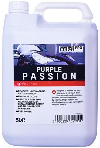 VALET PRO PURPLE PASSION 5000ML (SWIRLS VERWIJDEREN)