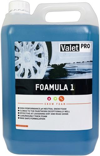 VALET PRO SNOW FOAM FOAMULA 1 - 5000ML