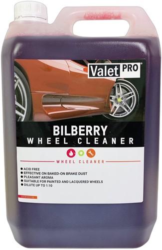 VALET PRO WHEEL CLEANER BILBERRY SAFE VELGEN REINIGER WIELREINIGER 5L (CONCENTRAAT)