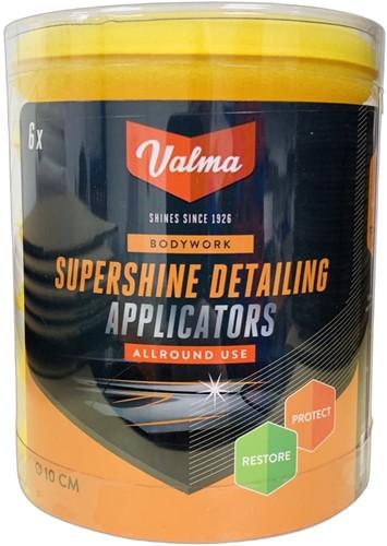 VALMA V015 DETAILING APPLICATOR PADS 6 STUKS
