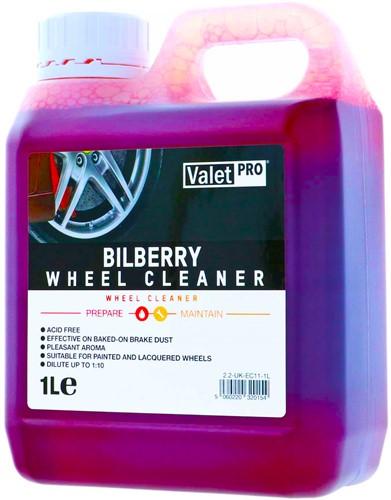 VALET PRO WHEEL CLEANER BILBERRY SAFE VELGEN REINIGER WIELREINIGER 1000ML CONCENTRAAT